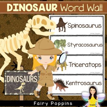 Dinosaur Word Wall