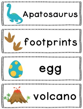 Dinosaur Words