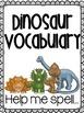 Dinosaur Write It Up {Writing Activities & Prompts}