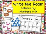 Dinosaur Write the Room numbers 1-10