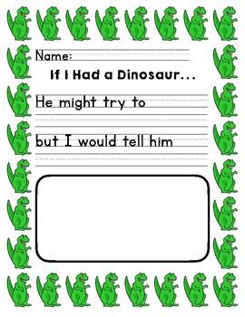 Dinosaur Writing