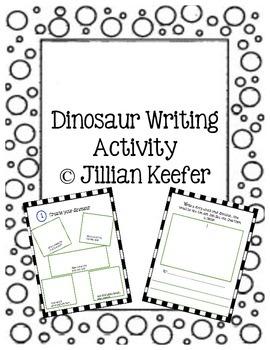 Dinosaur Writing Activity