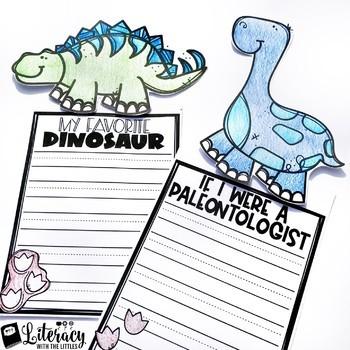 Dinosaur Writing Craftivities