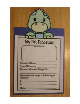 Dinosaur Writing Craftivity