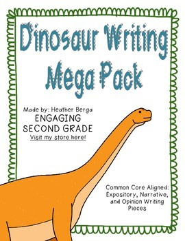 Dinosaur Writing Mega Pack