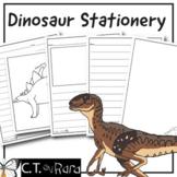 Dinosaur Writing Paper Stationery