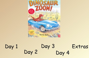 Dinosaur Zoom Guided Reading Weekly Lesson Plan - Four Blocks Literacy