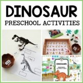 Dinosaur Themed Preschool Activities and Centers