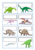Dinosaur and Colour Block Classroom Labels