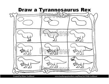 Dinosaur and Pterosaur Drawing Tutorial Bundle