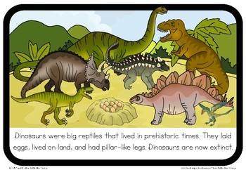 Dinosaur book (simple)