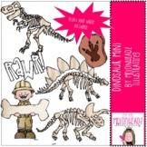 Dinosaur clip art - Mini - by Melonheadz Clipart