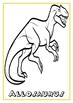 Dinosaur coloring pages and crafts