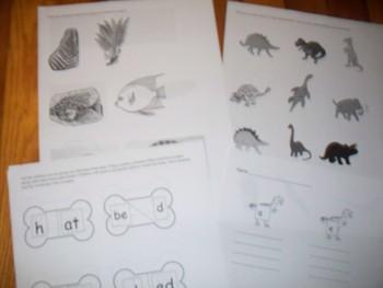 Dinosaur lesson/activities