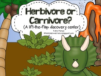 Dinosaur lift-the-flap discovery center- Is it a Herbivore