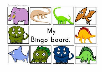 Dinosaur math pack for prek / preschool