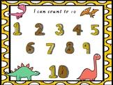 Dinosaur numbers to 10