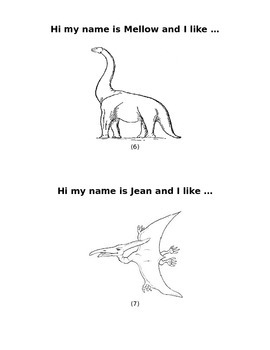 Dinosaur rhyming, math, and science