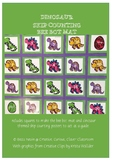 Dinosaur - skip counting - bee bot mat and posters