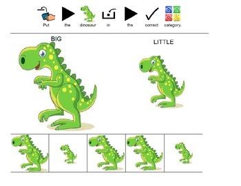 Dinosaur sort by size