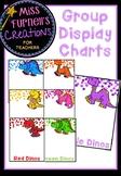 Dinosaur themed Group Display Charts