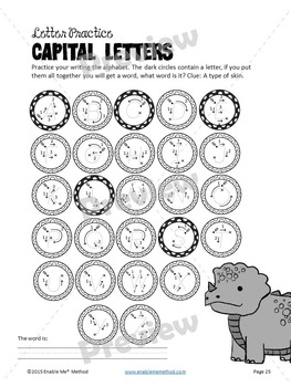 Alphabet Cursive Handwriting Worksheets for 5 - 11 years: Success with Dinosaurs