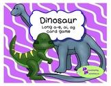 Dinosaur themed long A game