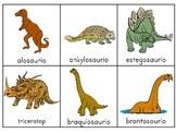 Dinosaurios Escribiendo alrededor del salón