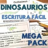 Dinosaurios - Escritura Fácil - Using Preferred Topics to