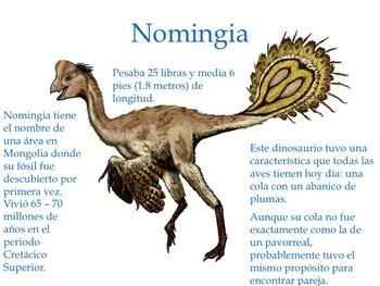 Los Dinosaurios con Plumas: Presentación en PowerPoint