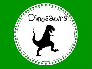 All About Dinosaurs!!!