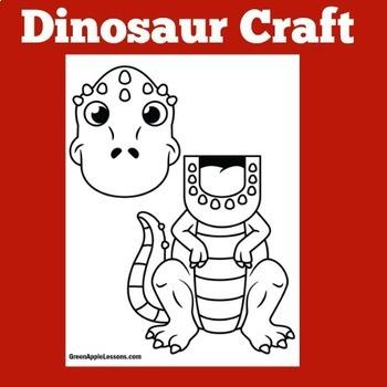 Dinosaur Craft | Dinosaur Activity | Dinosaurs Kindergarten