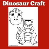 Dinosaur Craft | Preschool Kindergarten 1st 2nd Grade | Di