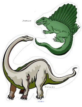 Dinosaurs Printables Pack with Realistic Graphics 117 pages