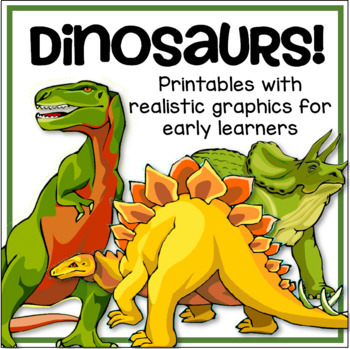 Dinosaurs Printables Pack