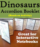 Dinosaurs Interactive Notebook Foldable Activity