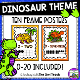 Dinosaur Theme:  Number Posters