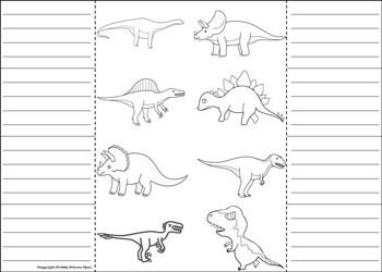 Dinosaurs Activity: Interactive Notebook Foldable