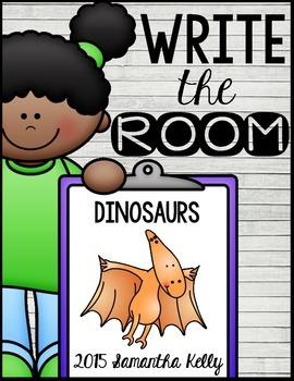 Dinosaurs Write the Room Center