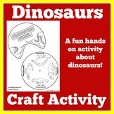 Dinosaur Craft | Dinosaurs Kindergarten | Dinosaurs Preschool