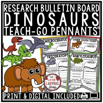 Dinosaur Research Project & Rubric
