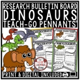 Dinosaur Research Activities & Rubric Teach- Go Pennants™ Dinosaur Activities