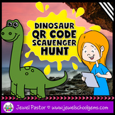 Dinosaur Activities (Dinosaur QR Codes Scavenger Hunt)