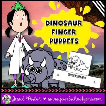 Dinosaur Crafts (Finger Puppets)