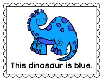 Dinosaurs- A Colorful Story