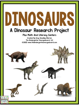 Dinosaurs Research And Writing Project