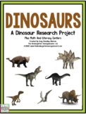 Dinosaurs: A Research and Writing Project PLUS Centers!