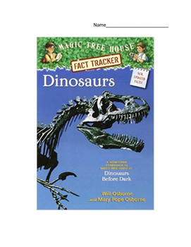 Dinosaurs: A Magic Tree House Non-Fiction Reading Comprehension Packet with Key