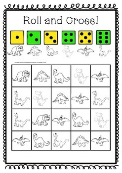 Dinosaurs- A literacy, Math and Science Pack