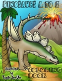 Dinosaurs A to Z Coloring Book